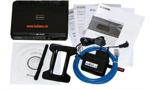 роутер D-Link DIR-300/NRU