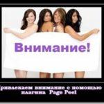 Page Peel — привлекающий внимание элемент блога